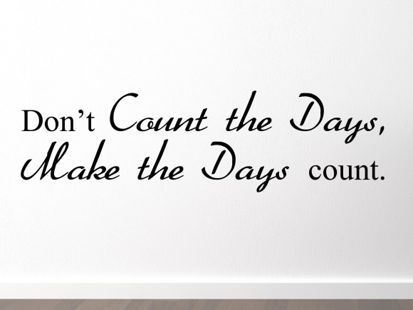 dont-count-the-days-make-the-days-count-sfeer